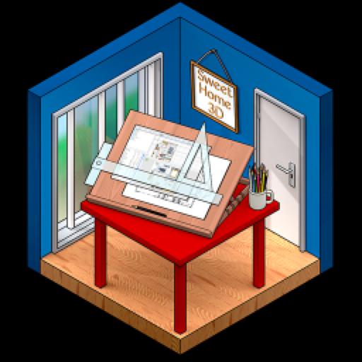 Sweet Home 3D for Mac(3D室内设计软件)v6.5.5中文版